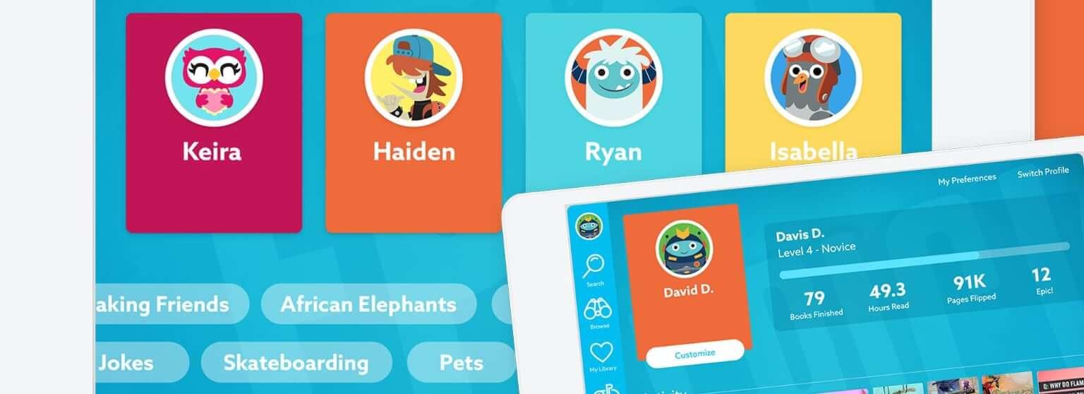 epic libros online para niños avatel