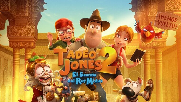 Estreno Tadeo Jones 2